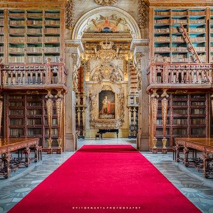 Biblioteca Joanina: una joya de Coimbra