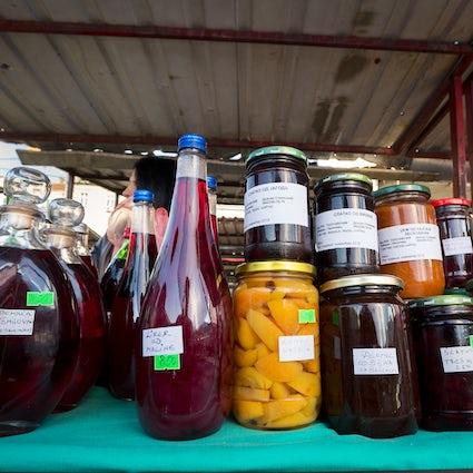 Belgrade open markets