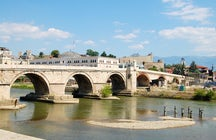 Stone Bridge in Skopje
