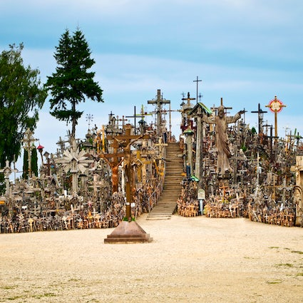 Sacred or scary: the Hill of Crosses in Šiauliai
