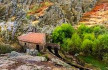La fortaleza de Penha García y las serpientes de Naturtejo de 450 millones de años de antigüedad