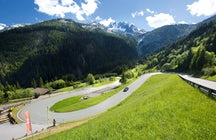 Gerlos Alpine Road, a path to the gold treasure