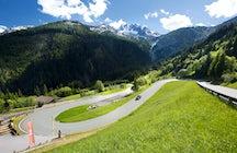 Gerlos Alpine Road, a path to the gold treasure