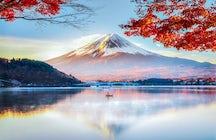 Les vues splendides de Kawaguchiko
