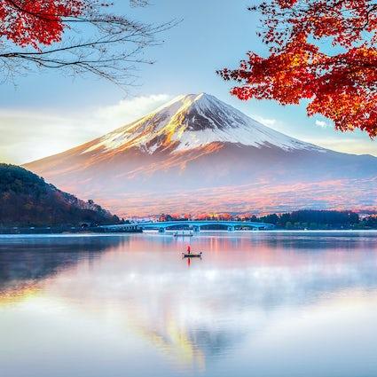 As lindas vistas de Kawaguchiko