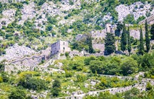 Up to San Giovanni Castle in Kotor