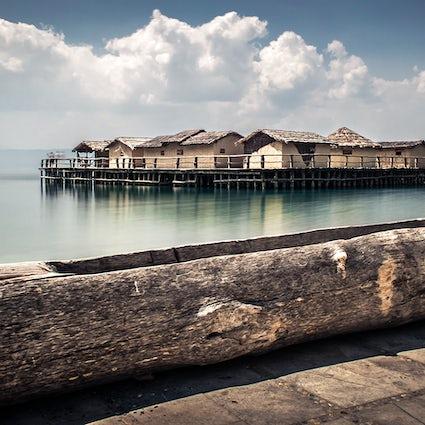 La bahía de los huesos en Ohrid