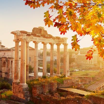 El otoño en Roma