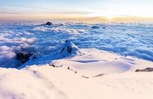 Huaina Potosí, une vue blanche infinie au-dessus des nuages