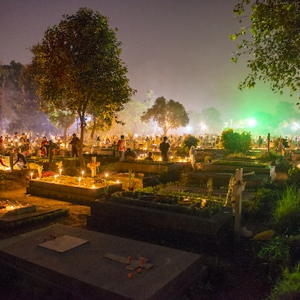 Honor the departed on All Saints' Day in Transylvania