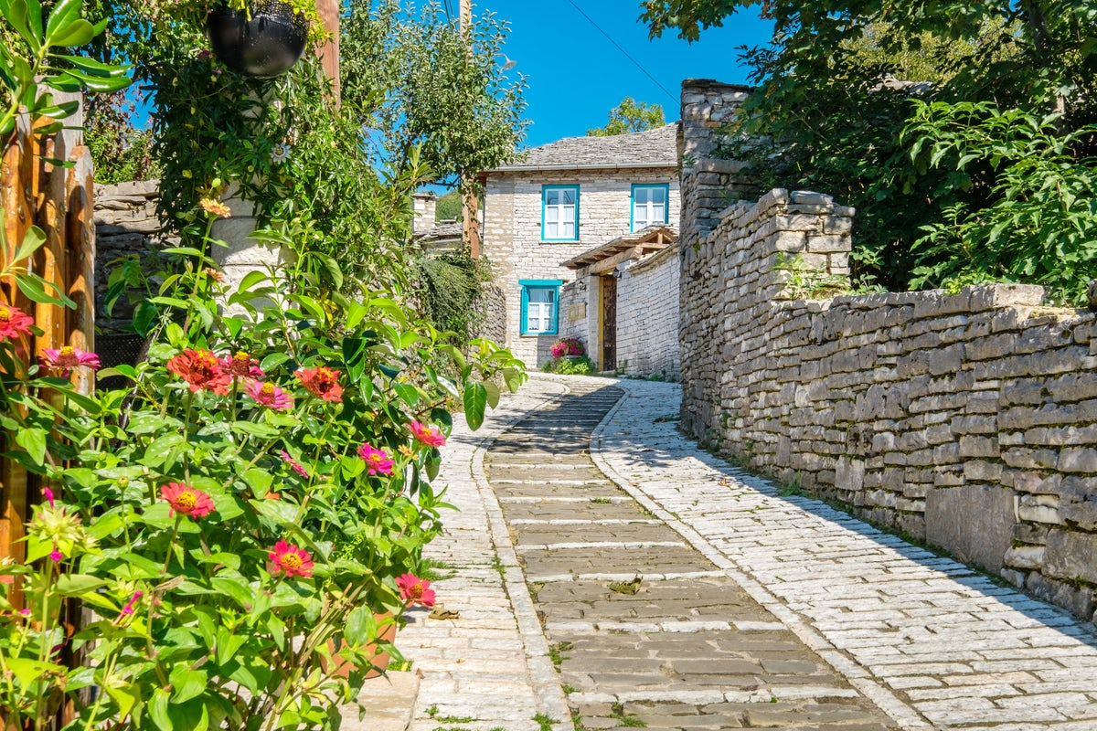 Winter Escapes in Greece; Picturesque Villages