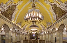 Caleidoscopio della metropolitana di Mosca