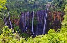 Tausend Wasserfälle in einem: Tumpak Sewu, Ost-Java