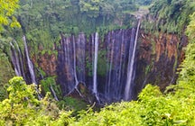 Mil cascadas en una: Tumpak Sewu, Java Oriental