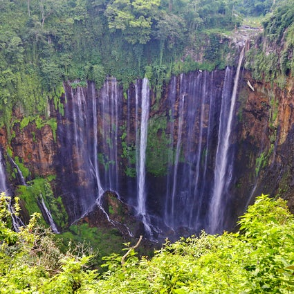 A thousand waterfalls in one: Tumpak Sewu, East Java