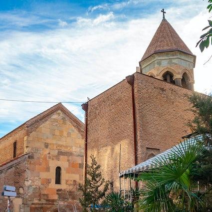 Basílica de Anchiskhati - la iglesia más antigua que sobrevive en Tbilisi