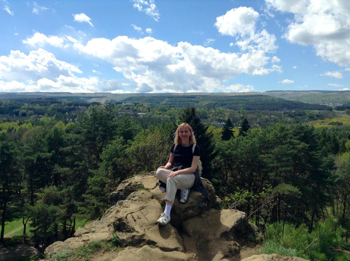 Magic labyrinth of Kislovodsk Resort Park