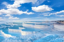 The Cotton Castle and its Elixir of Youth, Pamukkale!
