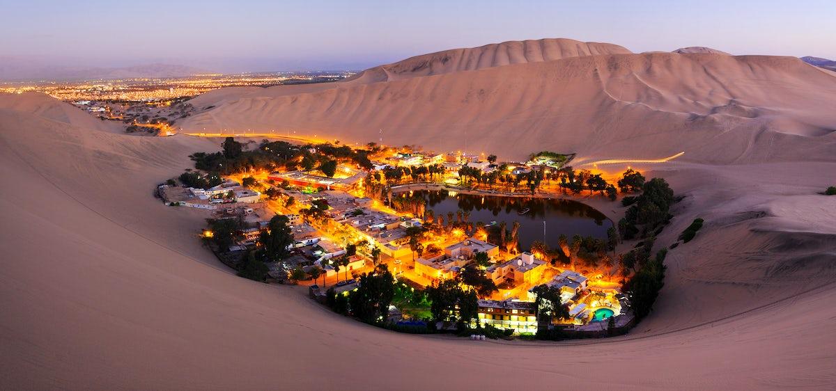Oasis de Huacachina - Sandboarding en increíbles dunas