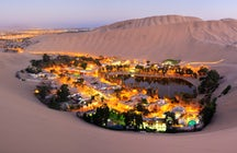 Huacachina oasis- Sandboarding on incredible dunes