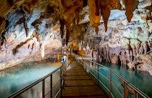 Winterfluchten in Griechenland - Teil 3 - mystisch beeindruckende Höhlen