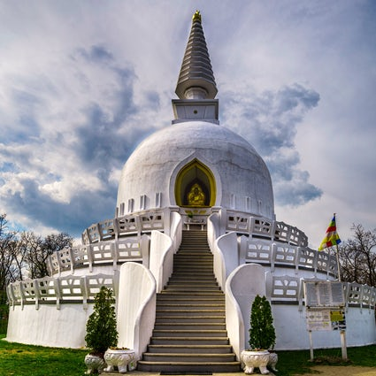 Europe's biggest stupa in Zalaszántó