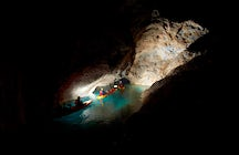 The authentic Mežica Mine: kayak and cycle under Mount Peca