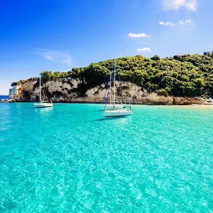 Cruise around in the Ionian Sea