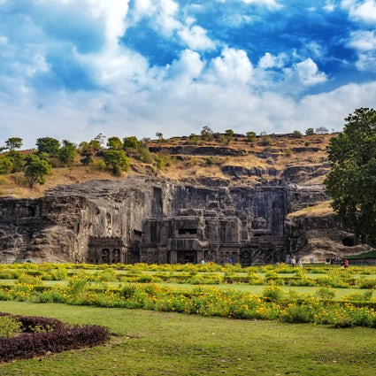 Ellora Caves in Maharashtra: religious harmony reflected in art