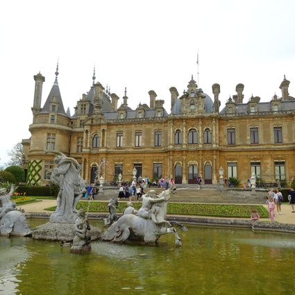The magnificent Waddesdon Manor