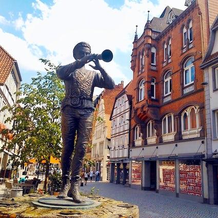 La ciudad del flautista: Hamelin!