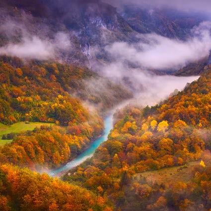 Profunda beleza do mais profundo canyon europeu