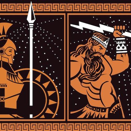 Eine Reise in die Mythologie; Olympus