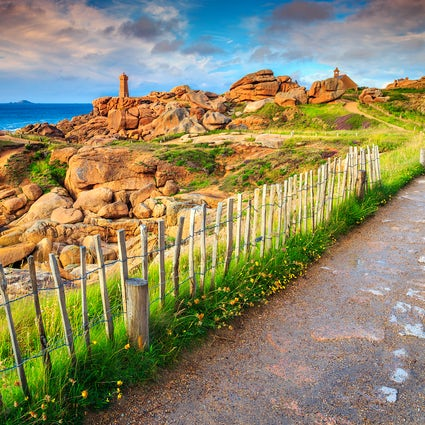 Perros-Guirec - the best seaside resort in Brittany