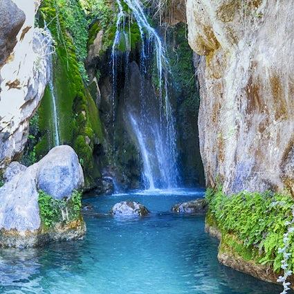 Fühlen Sie sich eins mit der Natur bei den Fuentes de Algar