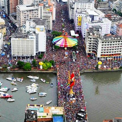 Recife & Olinda; el mejor carnaval de Brasil