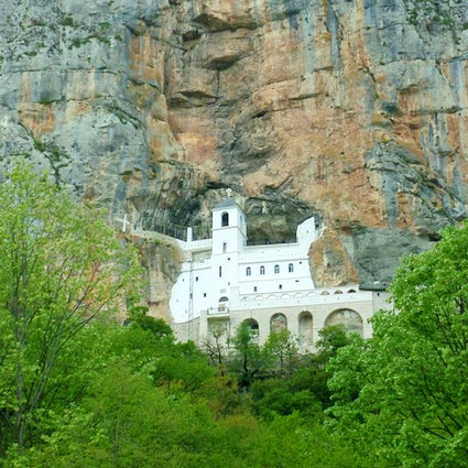 The Monastery of Ostrog - the most visited Orthodox shrine in Europe