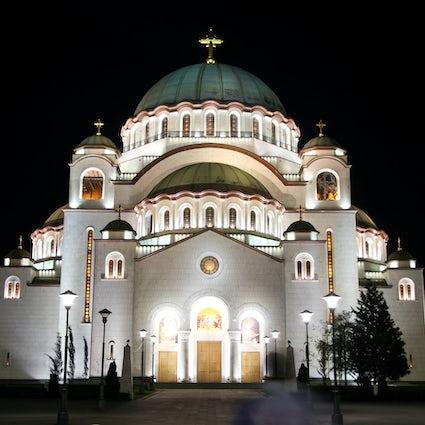 Belgrader Geschichten: Hram Svetog Speichern