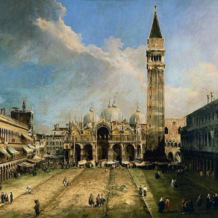 Piazzas in Italy: Piazza san Marco, Venice