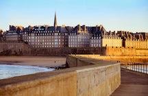 Saint-Malo - la verdadera perla de Bretaña