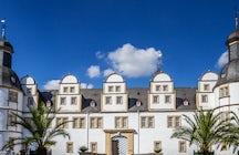 The baroque gardens of Neuhaus Castle