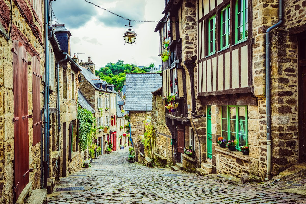 Dinan - Brittany's best-preserved medieval town