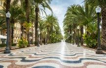 Paseos y fiestas en Alicante