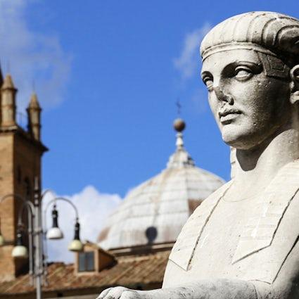 Egyptian steps in Rome