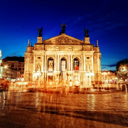 The Opera House - the architectural icon of Lviv
