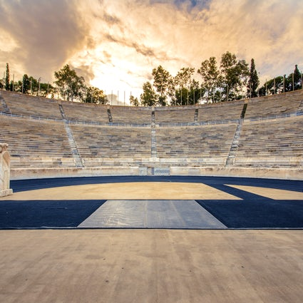 The Panathenaic Stadium in Athens