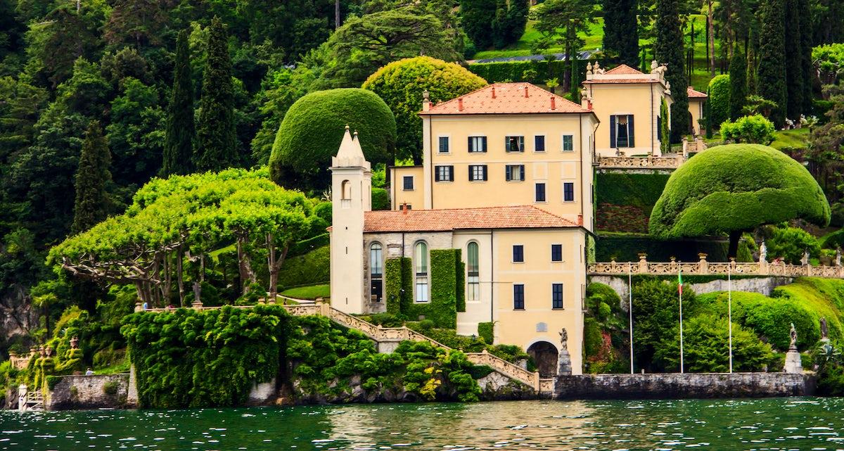 Historical Villas on the Lake Como