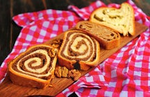 Baking potica – the famous Slovenian nut roll