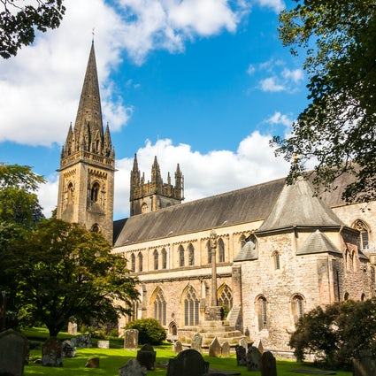 Llandaff – the village, the cathedral and Roald Dahl