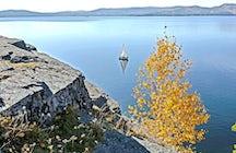 Lago Turgoyak - o irmão mais novo do Baikal, perto de Miass